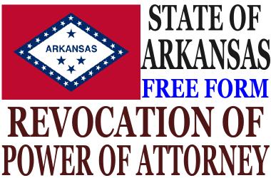 Revoke Power of Attorney Arkansas