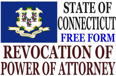 Revoke Power of Attorney Connecticut