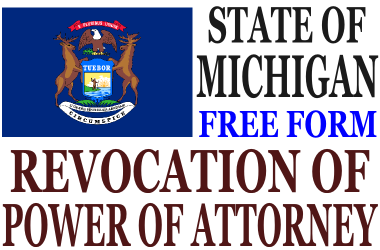 Revoke Power of Attorney Michigan