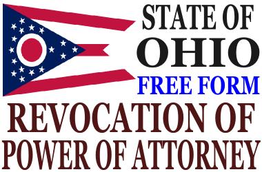 Revoke Power of Attorney Ohio