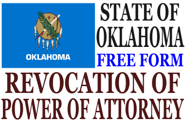 Revoke Power of Attorney Oklahoma