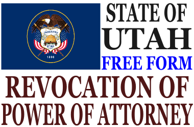 Revoke Power of Attorney Utah