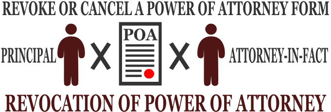 Revocation Of Power Of Attorney Form Revocation Of Power Of Attorney