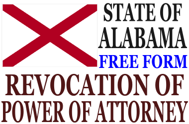 Revoke Power of Attorney Alabama