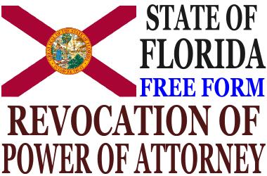 Revoke Power of Attorney Florida
