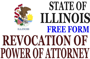 Revoke Power of Attorney Illinois