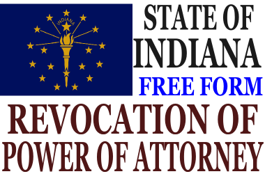 Revoke Power of Attorney Indiana