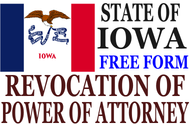 Revoke Power of Attorney Iowa