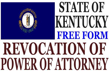 Revoke Power of Attorney Kentucky