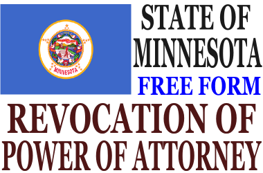 Revoke Power of Attorney Minnesota
