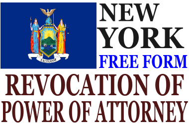 Revoke Power of Attorney New York