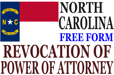 Revoke Power of Attorney North Carolina