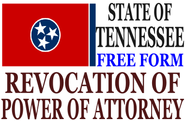 Revoke Power of Attorney Tennessee