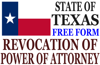 Revoke Power of Attorney Texas